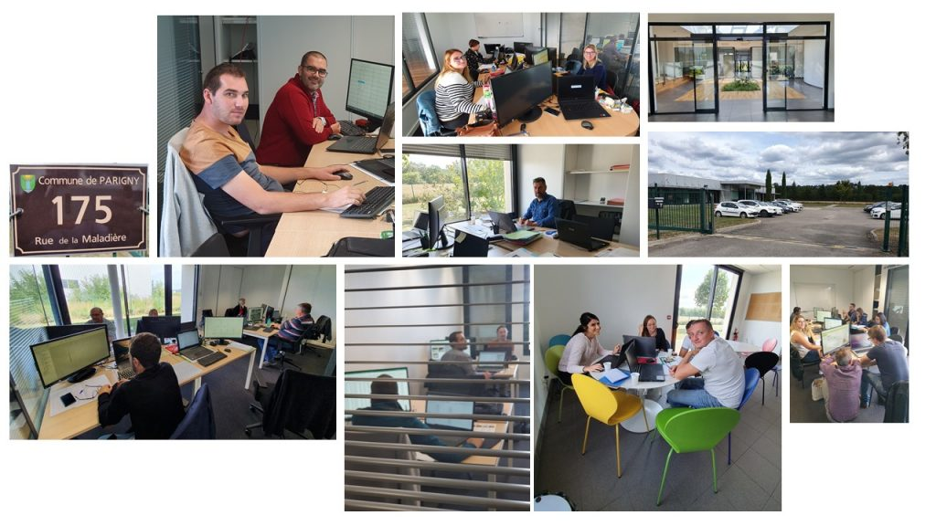 Quelques photos des bureaux de Parigny